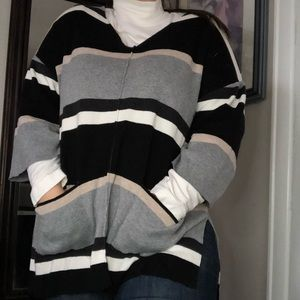 Reitman Poncho Styled Sweater Top